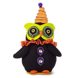 Halloween Owl Fabric Figurine, , large