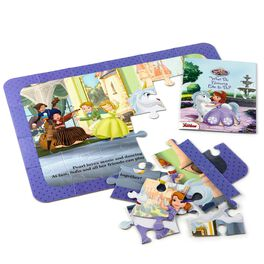 Sofia the First Mystery Story Puzzle, , large