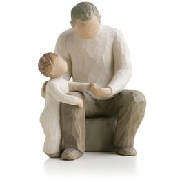 Willow Tree® Grandfather Grandchild Figurine, , large