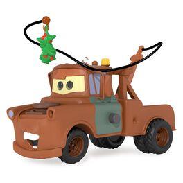 Mistletoe Mater Disney/Pixar Cars Ornament With Sound, , large
