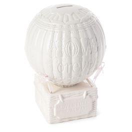 Ceramic Hot Air Balloon Money Bank, , large