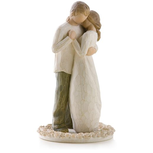 Cake Decor Figurines : Willow Tree  Promise Wedding Engagement Love Cake-Topper ...