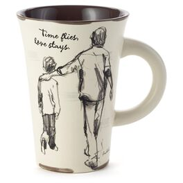Time Flies Father Son Mug, , large