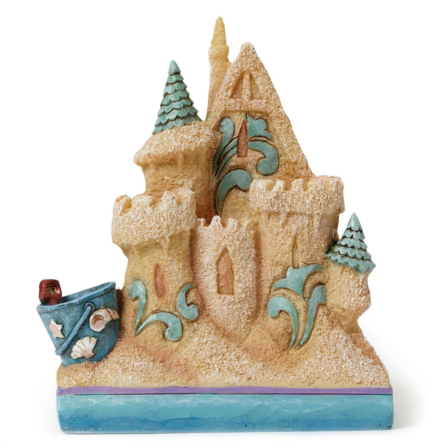 Jim shore mini sandcastle figurine figurines hallmark for Shore house decor