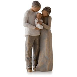 Willow Tree® We Are Three New Family Baby Figurine, , large