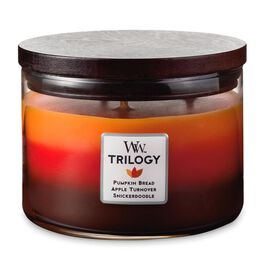 Fall Comforts Trilogy WoodWick® Candle, , large