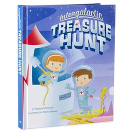 Intergalactic Treasure Hunt Touch-Sensitive Interactive Adventure Storybook, , large