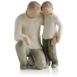 Willow Tree® Father and Son Fatherhood Family Figurine, , large