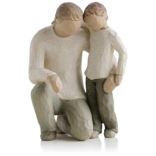 willow tree u00ae father and son fatherhood family figurine