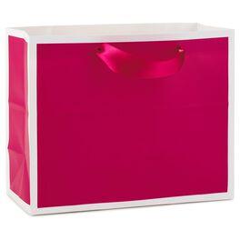 Raspberry Medium Gift Bag, , large
