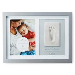 Baby's Footprint Impression Memory Photo Frame, , large