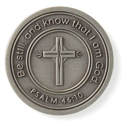 Psalm 46:10 Collectible Token, , large