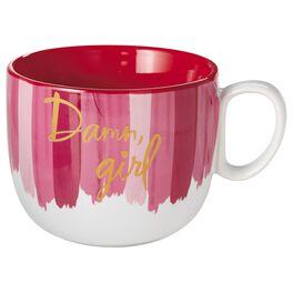 Damn, Girl Mug, , large