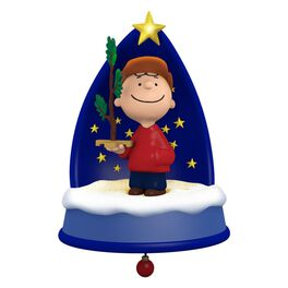 The PEANUTS® Gang A Sign of the Season Ornament With Light, Sound and Motion, , large