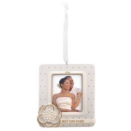 Wedding Photo Holder Ornament, , large
