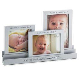 Baby Milestones Set of 3 Photo Frames, , large
