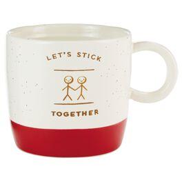 Let's Stick Together Mug, , large