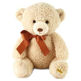 Owen Heritage Large Stuffed Bear, , large