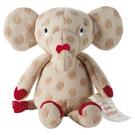 Elliott the Elephant Knitted Stuffed Animal, , large