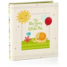 The Big Story of Little Me Three-Ring Baby Book, , large