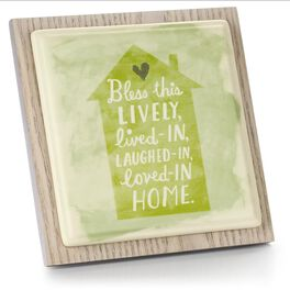 Bless This Home Plaque, , large
