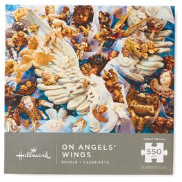 On Angels' Wings 550-Piece Jigsaw Puzzle, , large
