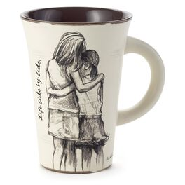Life Side-by-Side Sisters Mother Daughter Mug, , large