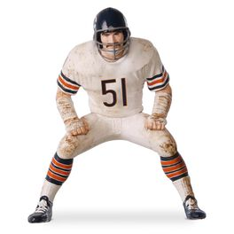 Football Legend Dick Butkus Chicago Bears Ornament, , large