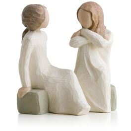Willow Tree® Heart and Soul Sisters Friendship Figurine, , large