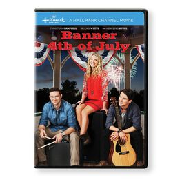 Banner 4th of July Hallmark Channel Movie DVD, , large