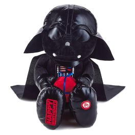 Darth Vader™ Birthday Stuffed Animal with Sound, , large