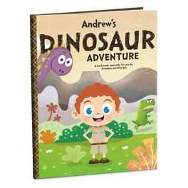 Dinosaur Adventure Personalized Book, , large
