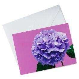 Photo of Blue Hydrangea Thank You Notes, , large