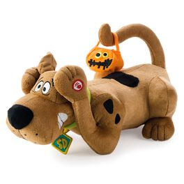 Scaredy Scooby-Doo Interactive Stuffed Animal, , large