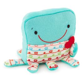 Tuck-a-Bellies Stuffed Octopus Gift Holder, , large