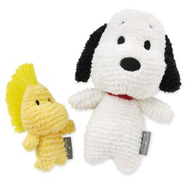 Snoopy and Woodstock Stuffed Animal Set, , large
