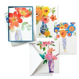 Painted Flowers, , large