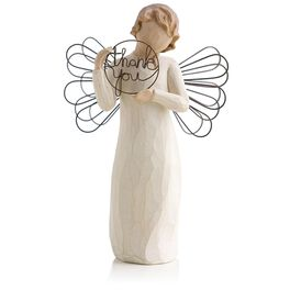 Willow Tree® Angel Just For You Thank You Figurine, , large
