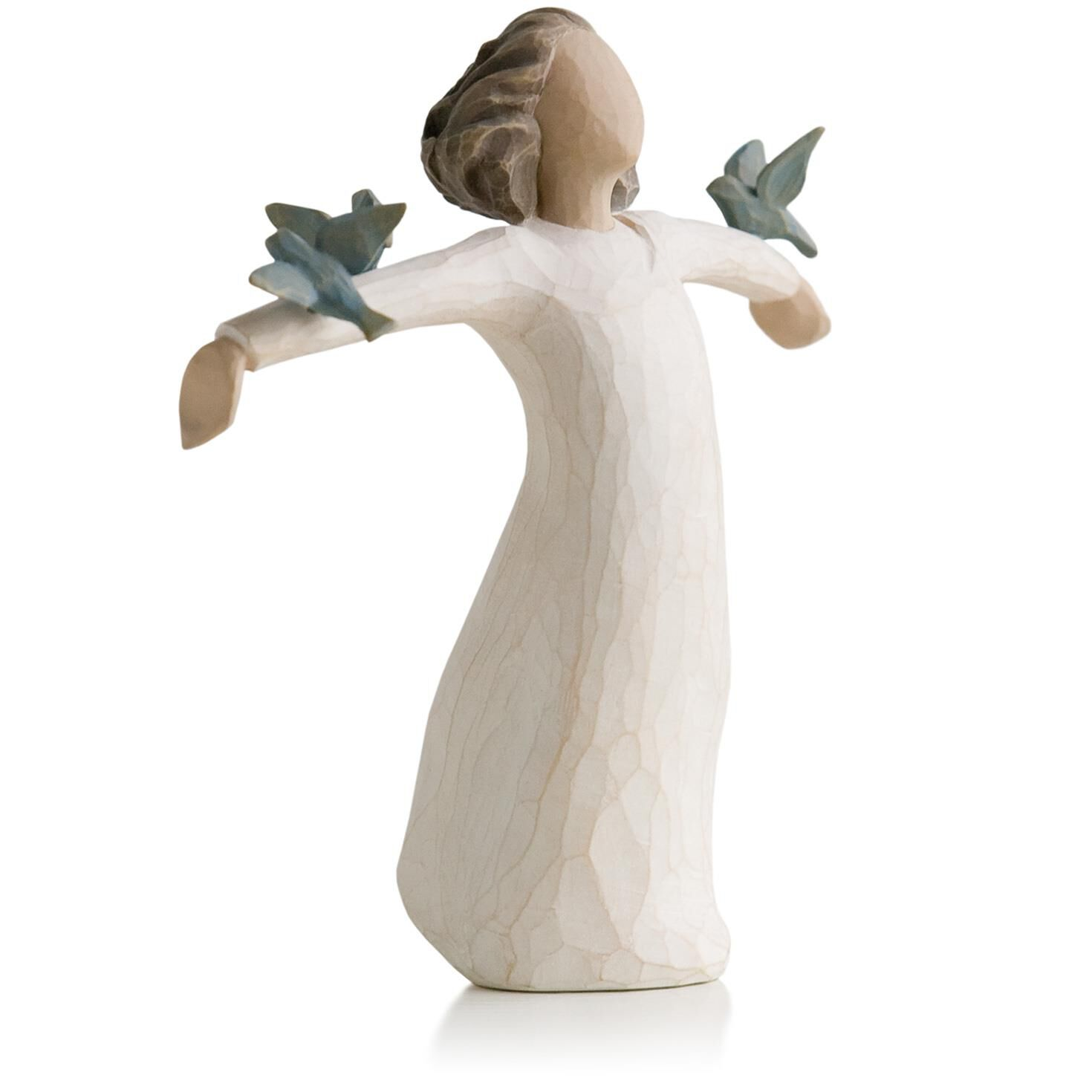 willow tree happiness birds figurine figurines hallmark. Black Bedroom Furniture Sets. Home Design Ideas