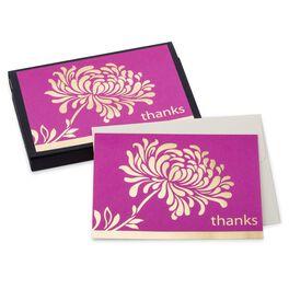 Pink Mum Thank You Notes, , large
