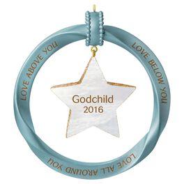 Godchild Star Ornament, , large