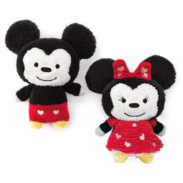 Mickey and Minnie Stuffed Animal Set, , large
