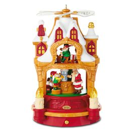Where Dreams Become Toys Santa Musical Decoration With Light and Motion, , large