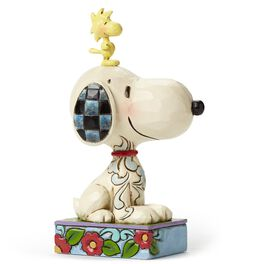 My Best Friend—Snoopy and Woodstock Figurine, , large