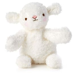Baby Lamb Stuffed Animal, , large