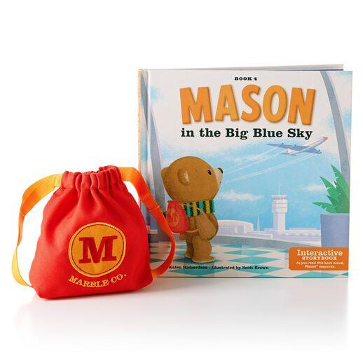 Mason in the Big Blue Sky