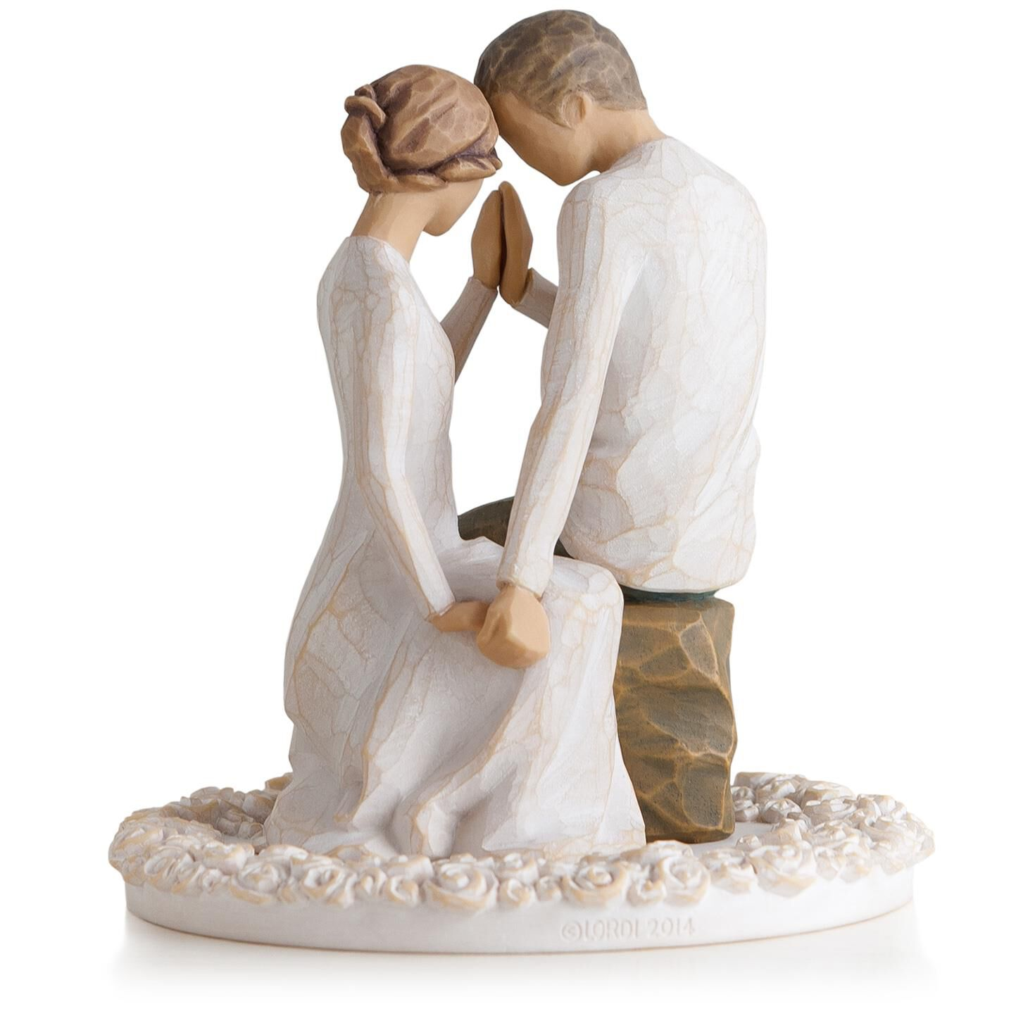 Willow Tree Around You Figurine & Wedding Cake Topper