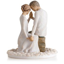 Willow Tree® Around You Wedding Cake Topper, , large