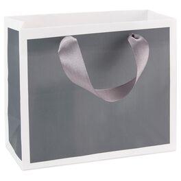 Steel Gray Gift Bag, , large