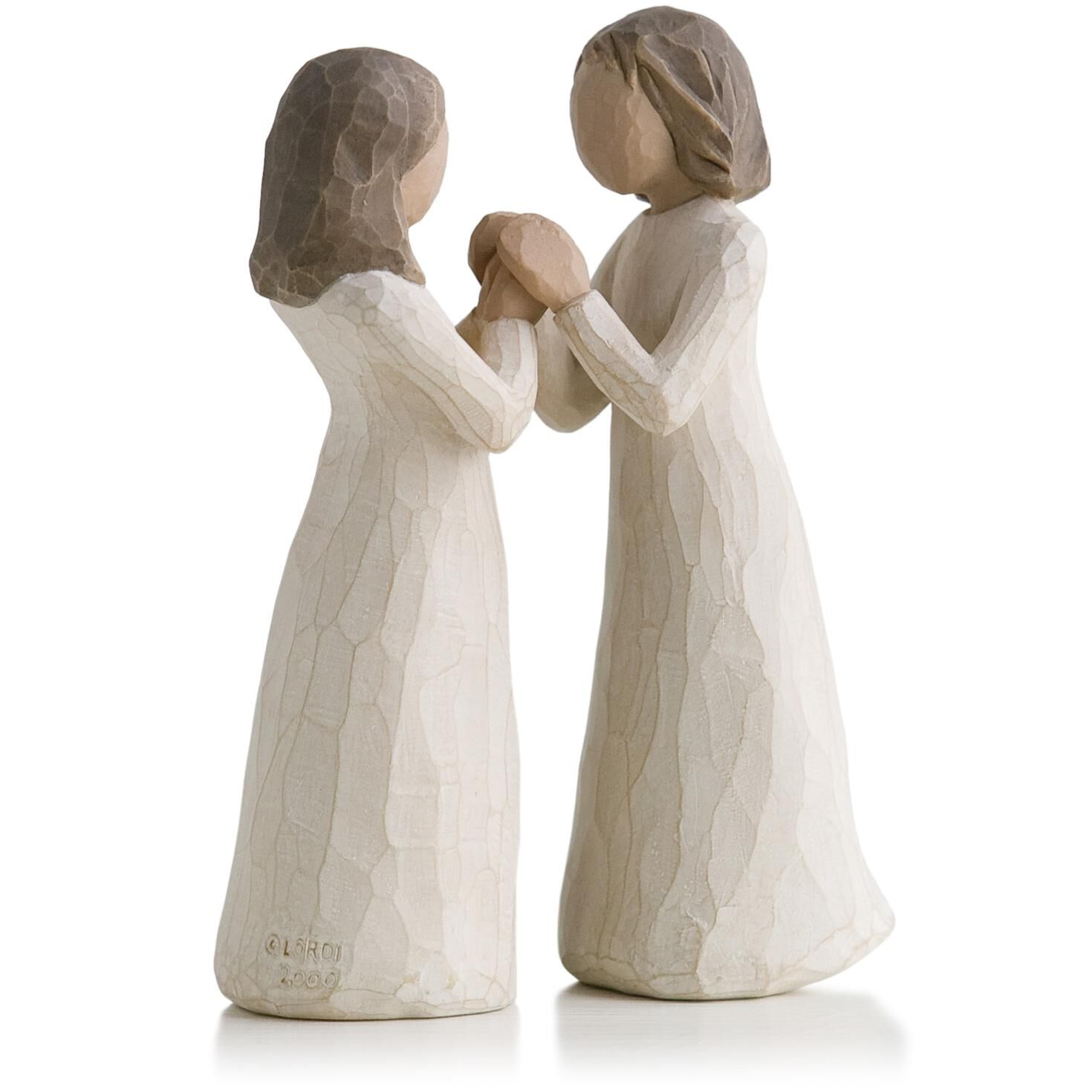 willow tree sisters by heart figurine figurines hallmark. Black Bedroom Furniture Sets. Home Design Ideas